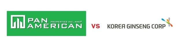 Pan Am vs Korea Ginseng ~ Similar Trademerk