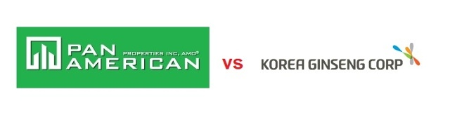 Pan Am vs Korea Ginseng ~ Similar Trademerk